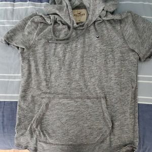 Mens Hollister hooded tee